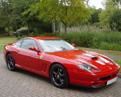 Ferrari 550 Maranello Hire