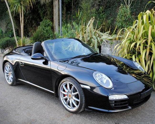 Porsche Carrera S Convertible Hire
