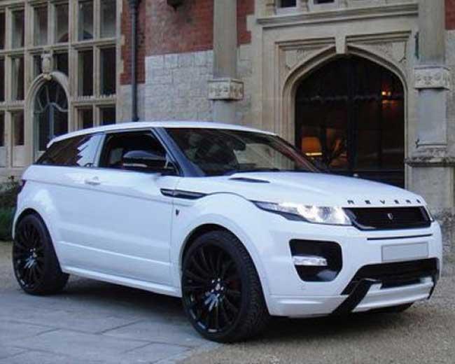 Range Rover Evoque Hire